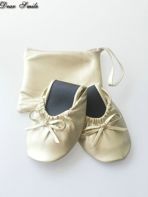 db54ae2f24a9 Wholesale popular cheap foldable ballerina shoes ballet flats for dancing