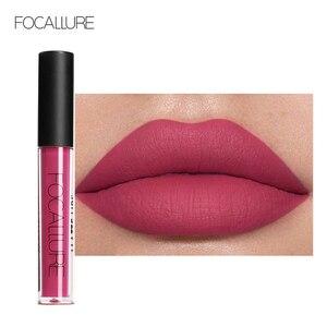 FOCALLURE Matte Lipgloss Sexy Liquid Lipstick Matte Long Lasting Waterproof Cosmetic Beauty Keep 24 Hours Makeup lipgloss(China)