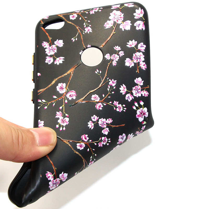 3D Relief flower silicone case huawei p8 lite 2017 honor 8 lite (33)