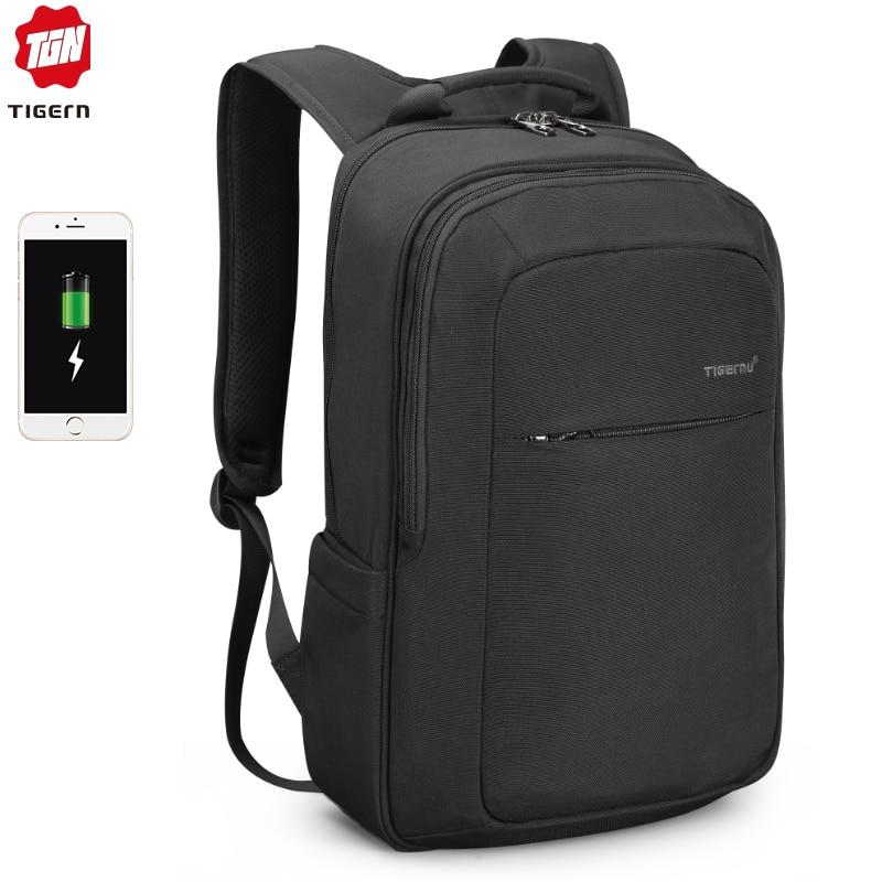 Tigernu 2019 New High Quality Waterproof 15 6 Laptop Backpack Men Women Pink Travel Schoolbags Casual