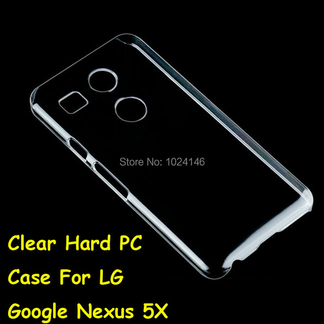 New Slim Crystal Transparent Hard PC Back Case Cover Protection Skin Shell For LG Google Nexus 5X 5.2 Inch