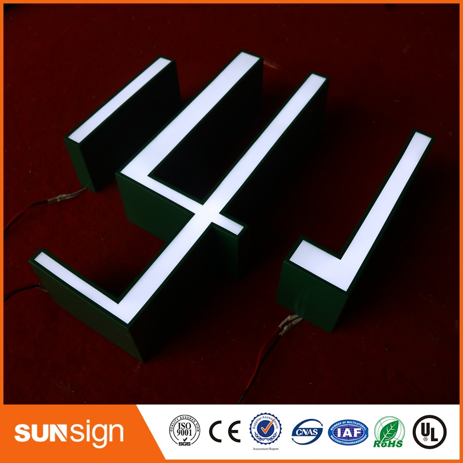 Wholesale neon light letters outdoor illuminated signs image