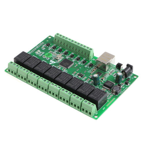 New 8 Channel Relay Network IP Relay Web Relay Dual Control Ethernet with RJ45 interface 8 channel relay network ip relay web relay dual control ethernet rj45 interface