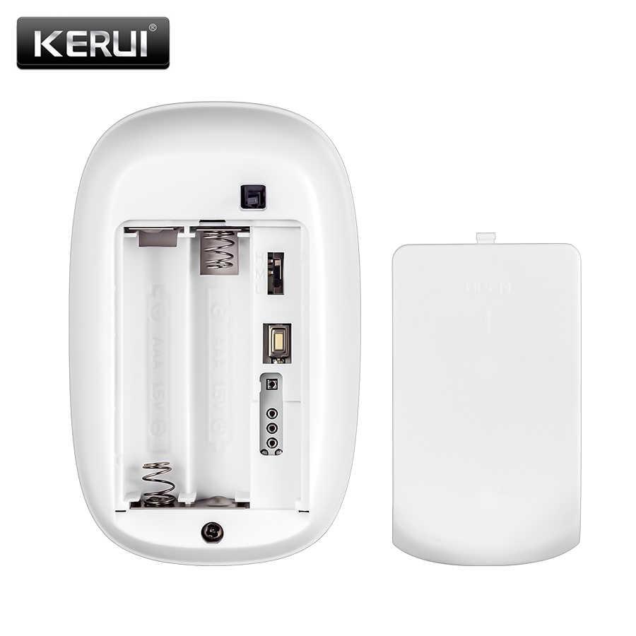 KERUI Z31 kablosuz ev titreşim dedektörü şok kapı/pencere sensörü alarmı KERUI güvenlik Alarm sistemi