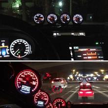 1 шт. Универсальный светильник 62 мм/2,5 дюйма, 7 цветов, ЖК-дисплей, автомобильный турбо-манометр с измерителем напряжения для универсального автомобиля, высокое качество