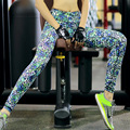 Sexy  Women's  Leggings Workout Fitness Trousers Printed   Pants Quick Dry Jeggings Leggins Y25035