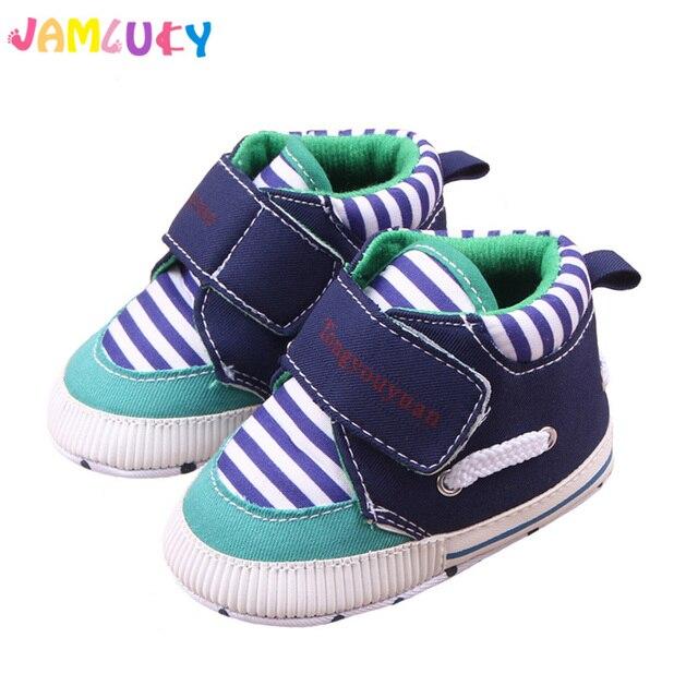 a1f5090900a3e Sapatos Sapatinhos de bebê Da Menina do Menino de Alta Top Sapatos Infantil  Bebe sapatos Recém