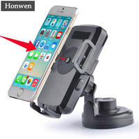 Honwen QI Wireless Car Charger For All QI Standard Phones Travel Phone Charger Wireless Charging On Car For iphone/Samsung