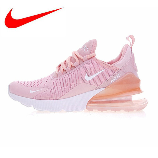 new style fcdd8 f0ce2 Original Et Authentique Nike Air Max 270 Femmes Chaussures de Course  Sneakers Sport En Plein Air