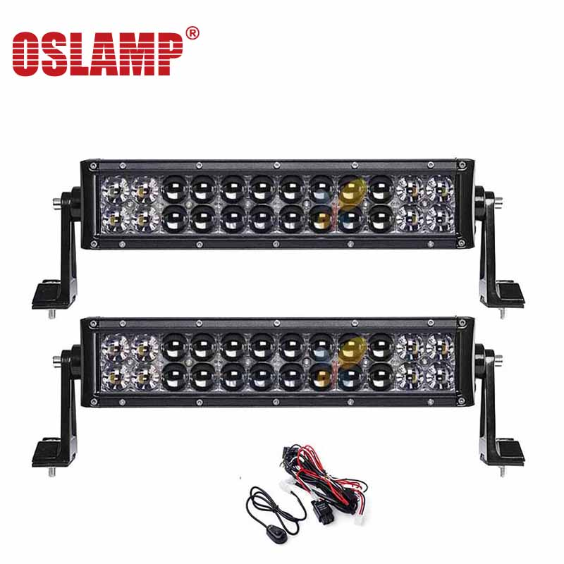 Oslamp 4D LED Work Light Bar 14