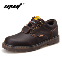 Handmade Genuine Leather Men Boots Ankle Boots New England Work Boots Shoes Men Tooling Boots Men