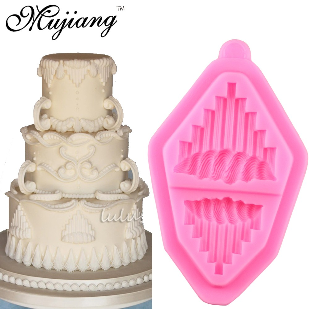 Cake Decor And More E U : Mujiang European Relief ? Icing Icing Pace Dry Silicone ...
