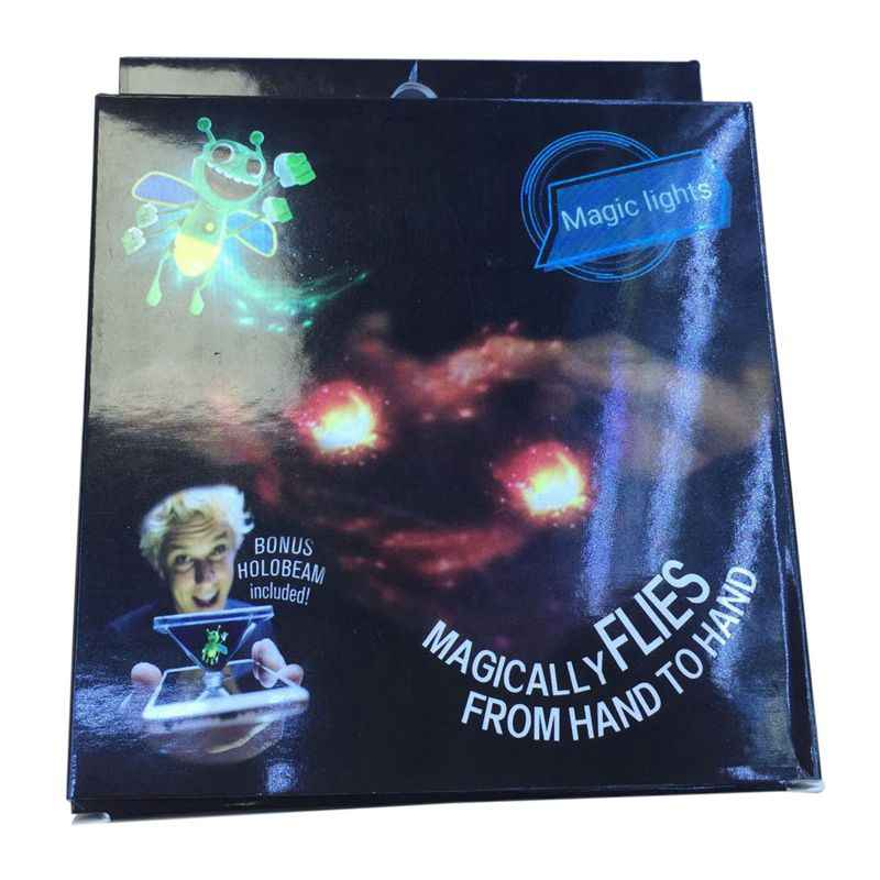 ضوء انفجار نحل العسل ماجيك فانوس لعبة جديدة ماجيك فنجر الدعامة مصباح ثلاثية الأبعاد الهولوغرام الإسقاط لعبة أداء الحفلات ضوء السحر