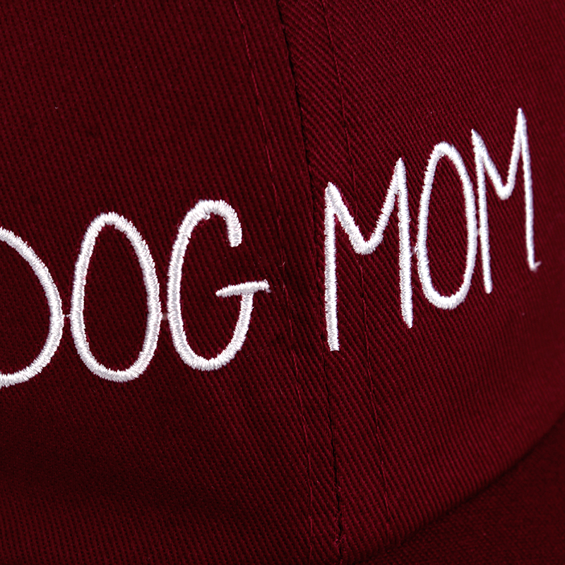8f43609b1fb Dog Mom Nurse Embroidered Dad Hat Customized Handmade Mothers Day Pregnant  Baseball Cap Bunny daughter Fashion Curved Daddy hat-in Baseball Caps from  ...