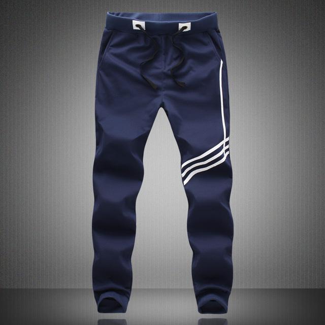 Hombres Pantalones de Algodón de Primavera Pantalones Nuevos de La Llegada de Tres Colores Sueltos Pantalones de Chándal Casual Famosa Marca Tallas grandes Pantalones