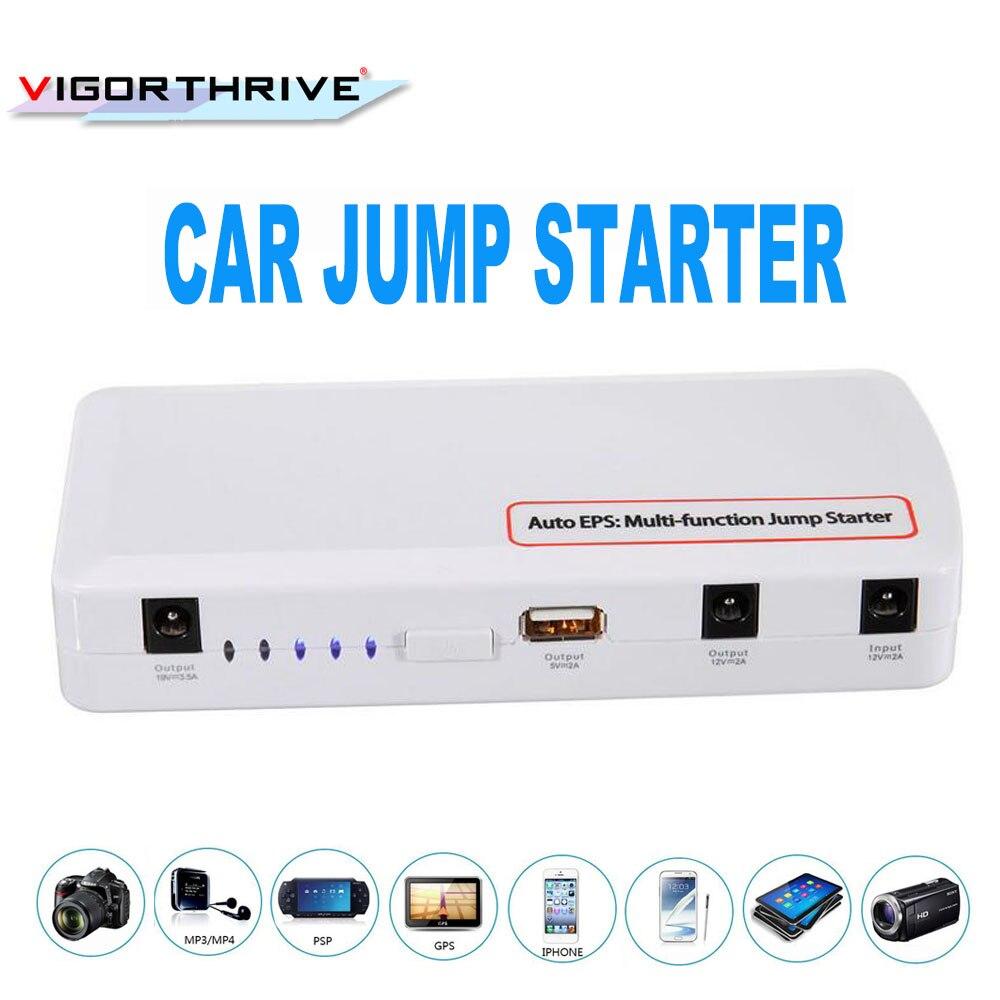 Batterie externe pour téléphone portable batterie rechargeable multi-fonction chargeur de batterie de voiture démarreur de saut de voiture