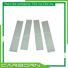 For Ford F150 2004-2014 304 Stainless Steel Car Window Pillar Post Trim-4 pieces