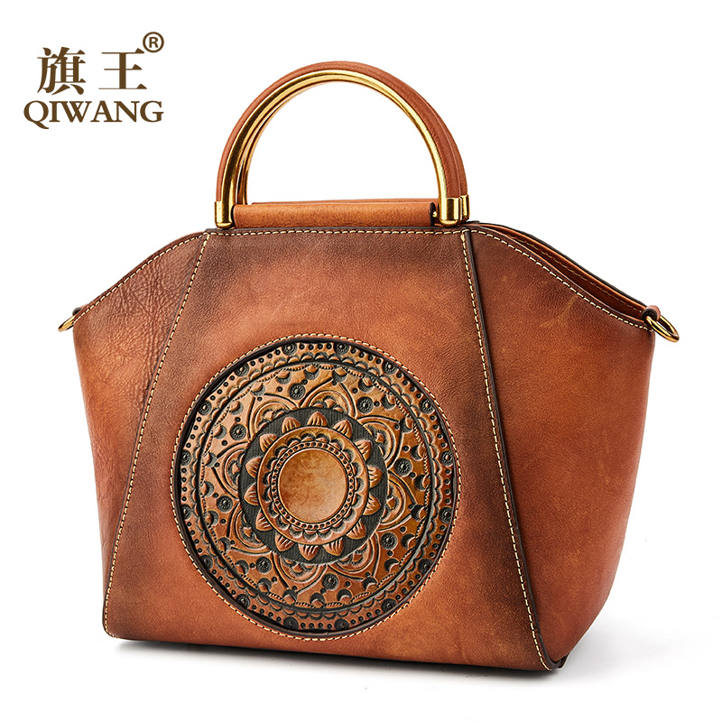 Vintage Woman Bag Cow Leather Luxury Designer Handbags Tote Print Shoulder Bag For Women Handbags Fashion Female Tote bolsa Vintage Woman Bag Cow Leather Luxury Designer Handbags Tote Print Shoulder Bag For Women Handbags Fashion Female Tote bolsa