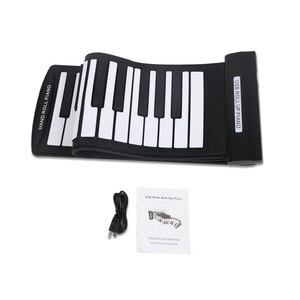 Image 3 - 휴대용 61 키 롤업 피아노 USB 미디 키보드 미디 Conctroller 핸드 전자 피아노