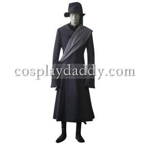 Černý Butler kuroshitsuji undertaker cosplay kostým