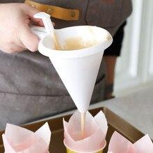 Кухня Регулируемая глазурь конфеты Воронка Форма для шоколадной выпечки тесто дозатор крема торт блины кекс Воронка выпечки инструменты