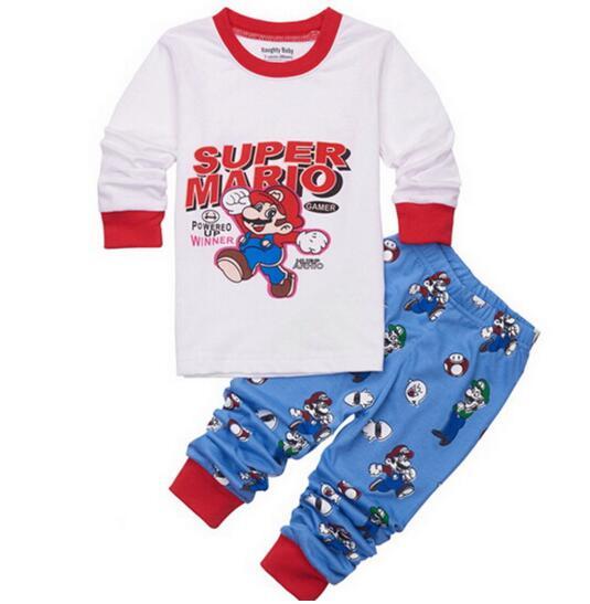 Mario Boys Pajamas Promotion-Shop for Promotional Mario Boys ...