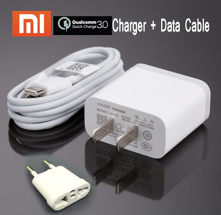 Cellphones & Telecommunications Lovely Original Xiaomi Fast Charger Genuine Qc 3.0 Quick Charge Eu Usb Wall Power Adapter For Mi A2 A1 8 Se 6 6x Mix Max 2 2s 3 Mi8 Mi6