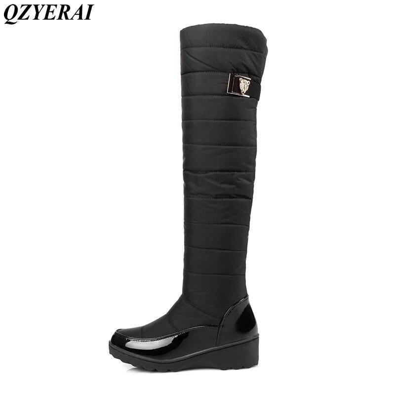 QZYERAI New arrival winter minus 40 degrees cotton warm snow boots font b women b font
