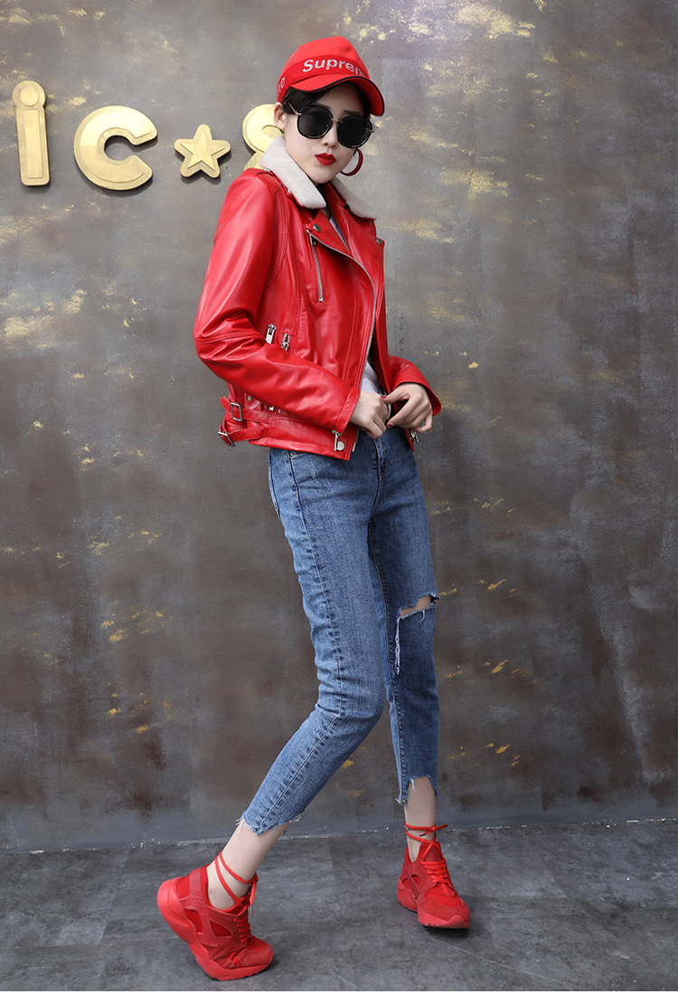 Hot Discount SHILO GO Leather Jacket Womens Spring Fashion