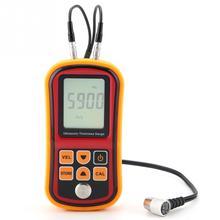 GM100 Thickness Gauge Tester Ultrasonic Thickness Gauge 1.2-220mm Steel Width Testing Monitor Width Measuring Instrument