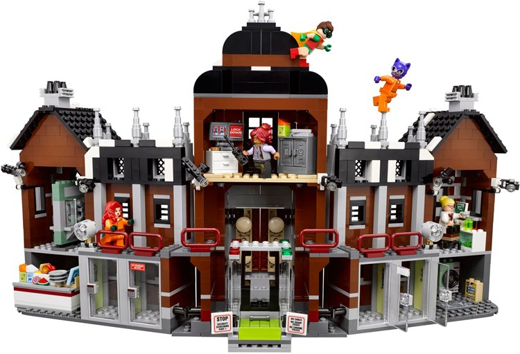 1628 Unids  Genuino de la Serie de Peliculas de Batman Arkham Asylum Building Blocks Juguetes de Los Ladrillos 709121628 Unids  Genuino de la Serie de Peliculas de Batman Arkham Asylum Building Blocks Juguetes de Los Ladrillos 70912
