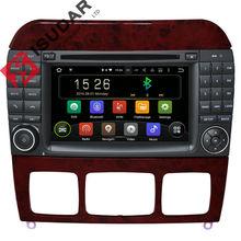 2 Din Andorid 5.1.1 7 Pouce Lecteur DVD de Voiture Pour Mercedes/Benz/W220/W215/S280/S320/S350/S400/S500/CL600 S Classe Canbus GPS Radio FM