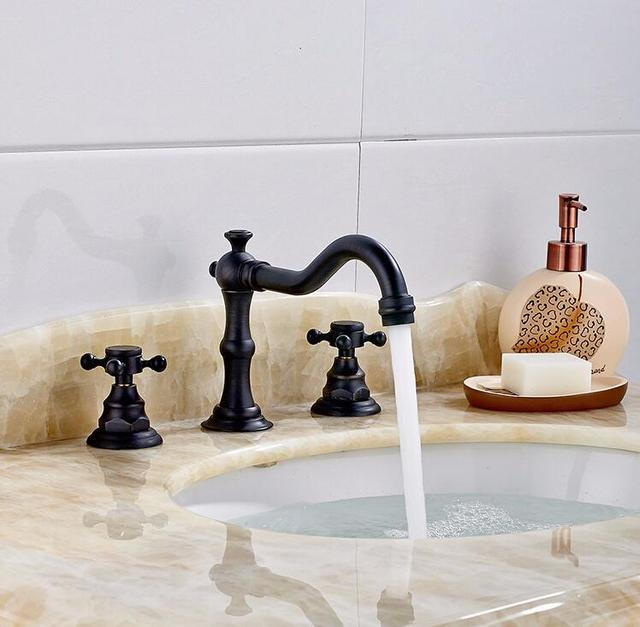 Aliexpress.com : Buy Bathroom Faucet Brass ORB finish Faucets ...