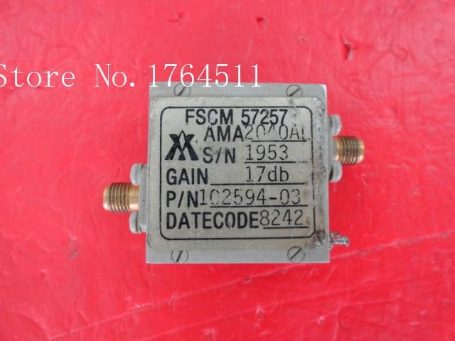 [BELLA] AY 102594-03 G:17dBm SMA Supply Amplifier