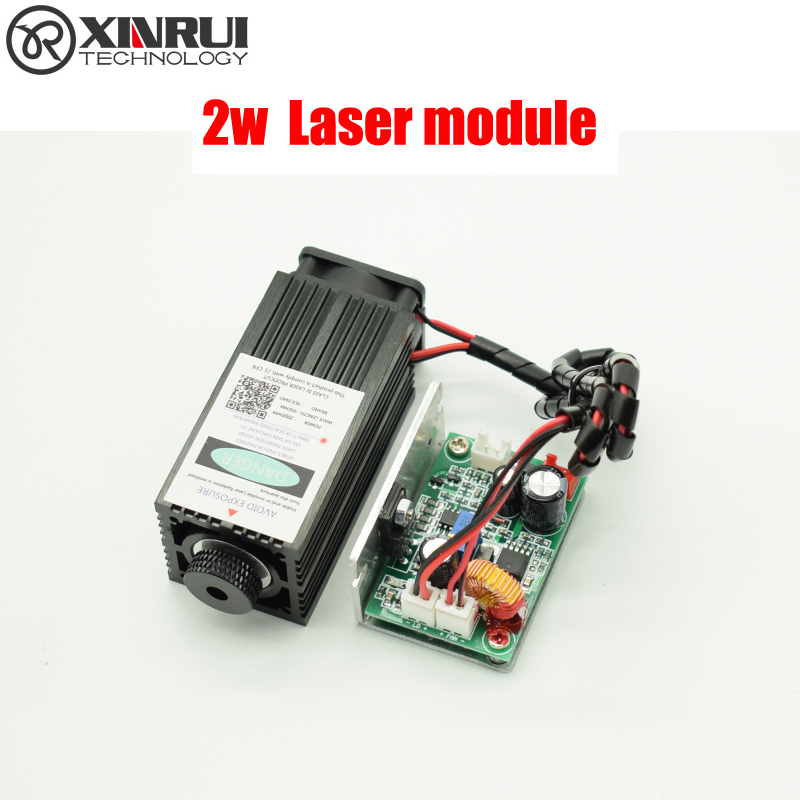2w high power 450NM focusing blue laser module laser engraving and cutting TTL module 2000mw laser tube+goggles 1 6w high power 450nm focusing blue laser module laser engraving and cutting ttl module 1600mw laser tube googles