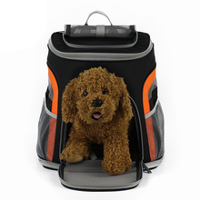 DannyKarl Portable Pet Bag Dog Carrier Bags Black Orange Cat Outgoing Travel Breathable 2019 Handbag Out