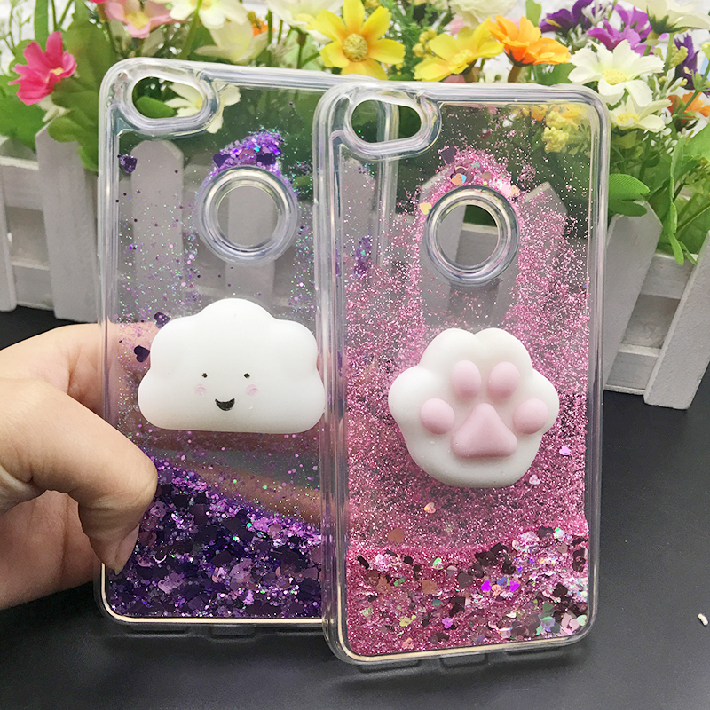 Xiaomi Redmi S2 Bling Glitter Dynamic Quicksand Liquid Case Xaomi Xiomi Red Mi S2 Redmis2 Soft Silicone Fitted Cover Phone Funda We Have Won Praise From Customers Half-wrapped Case