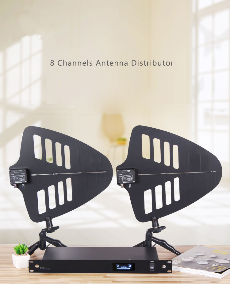 Новейший продукт/для 8 компл. беспроводной микрофон антенный усилитель сигнала направленная антенна для сцены enhanced 400 м