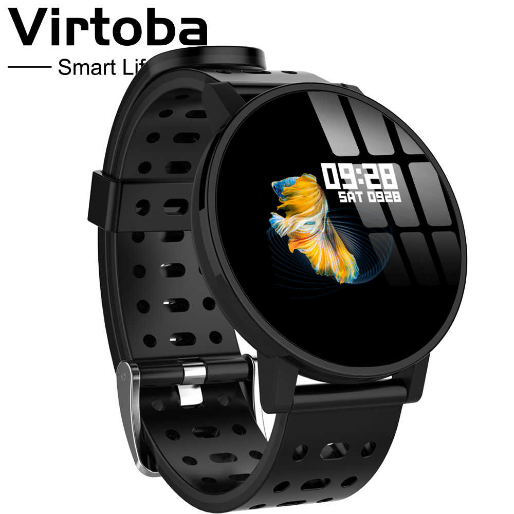 Makibes T3 IOS Android relojes inteligentes hombres mujeres HR sangre oxígeno presión arterial IP67 actividad impermeable Fitness Tracker PKV11