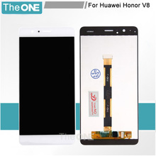 Good quality For Huawei Honor V8 LCD Display Digitizer Touch Screen Assembly 5.7″ replacement screen for huawei v8