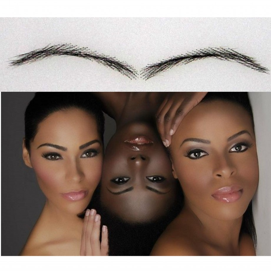 Long-lasting Easy To Wear 2017 Sobrancelha Eyebrow Enhancer , Human Permanent Set /makeup Growth For African American Women