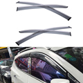 4pcs/lot Car Styling Vent Shade Sun Rain Guard Cover Window Visor For KIA Optima 2013 2014 2015 Accessories