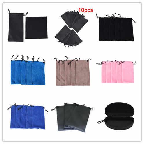 Multi-สไตล์ Anti-ฝุ่นกระเป๋าแว่นตากระเป๋าพกพากระเป๋าสำหรับแว่นตากันแดดกันน้ำป้องกันฝุ่นแว่นตากันแดดกล่องกระเป๋า