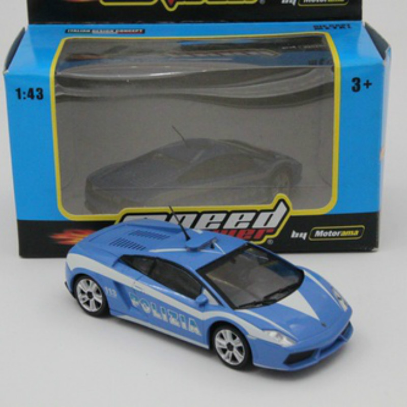 Motorama 1:43 Speed ​​Power Polizia 113 Gallardo LP560-4 Diecast Modelos Juguetes Autos