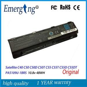 10.8V 48Wh New Original Laptop Battery for Toshiba Satellite Satellite C40 C50 C50D C50T C55 C55T C55D C55DT PA5109U-1BRS