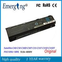 10.8V 48Wh New Original Laptop Battery for Toshiba Satellite Satellite C40 C50 C50D C50T C55 C55T C55D C55DT PA5109U 1BRS