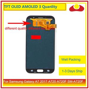 Image 2 - ORIGINAL For Samsung Galaxy A7 2017 A720 A720F SM A720F LCD Display With Touch Screen Digitizer Panel Monitor Assembly Complete