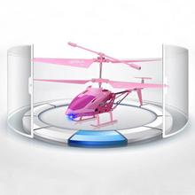 RC Toys LED Helicopter Skyline 3 5 Channel With Gyro Pink New Mini Drone