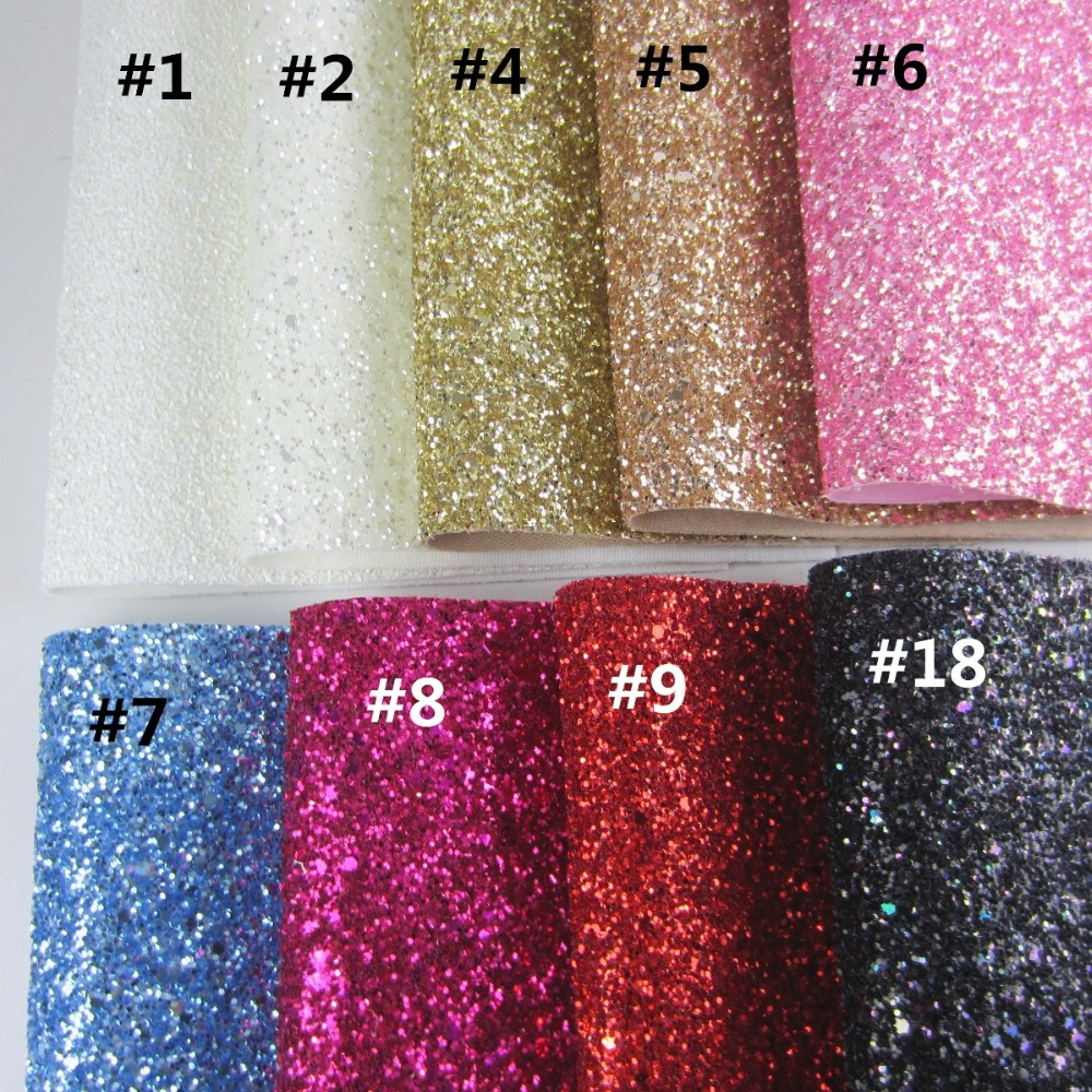 30cm X 134cm Glitter Fabric PU Leather For New Year Christmas Decorations Wedding Decoration DIY AY255