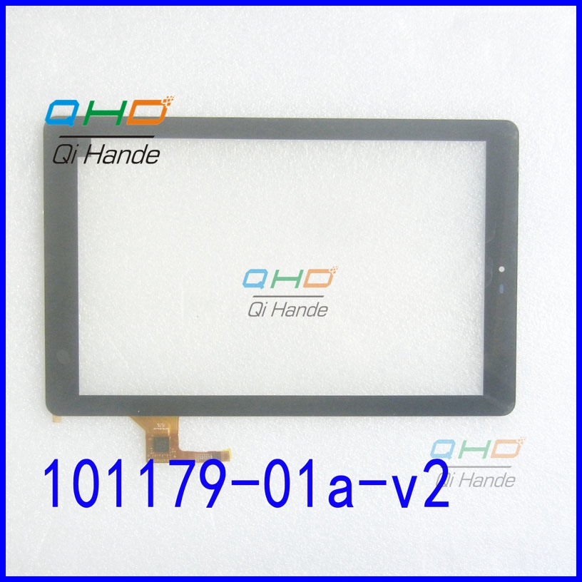 Black New touch screen For 10.1 inch Cube Talk10 U31GT Tablet touch panel digitizer glass Sensor 101179-01A-V2 replacement part a new mglctp 90894 9 6for cube u63 gt u63 cube u63gt touch screen digitizer glass touch panel 224x158mm
